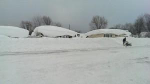 Cheektowaga New York Snowvember 2014 storm Pictures 1