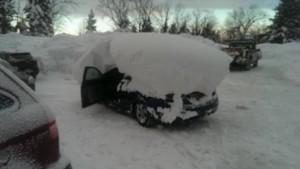 Cheektowaga New York Snowvember 2014 storm Pictures 4