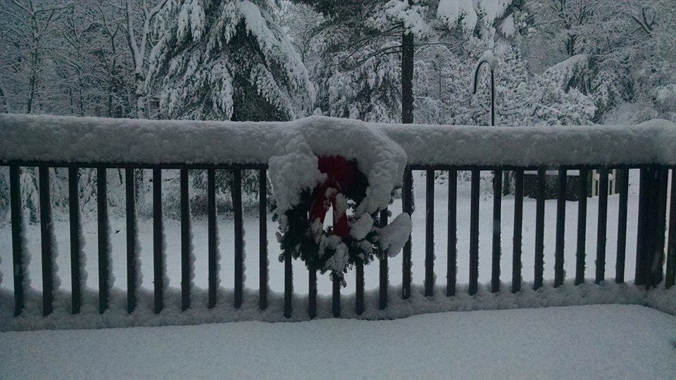 Snow Storm pictures in Milford, Pa